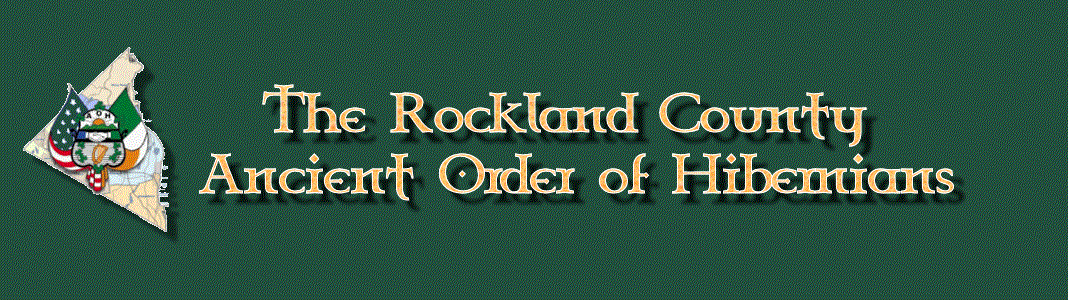 The Rockland County Ancient Order of Hibernians