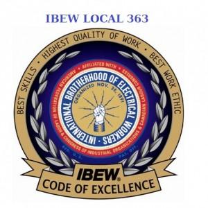 IBEW 363 COE Logo with LU 363