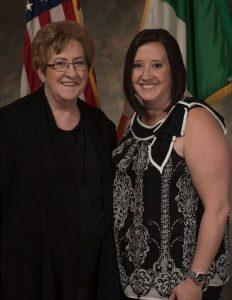 Hibernian Businesswomen of the Year Kay O'Grady and Michelle O'Grady Worob.