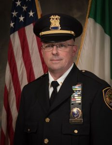 2017 Rockland County St. Patrick's Parade Commander: Lt. Michael Shannon, Orangetown Police Department.